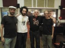 Con Juan Fracchi, Cesar Stroscio y Pino Enriquez en Casa Frida (2016)
