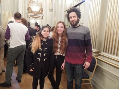 Legislatura Porteña con mis alumnas de la Esc. de Música de Barracas
