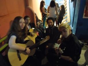 Noche de los Museos con los guitarristas de la Esc. de Música de Barracas(2016)
