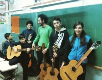 Audición de alumnos en la Escuela de Música de Barracas (2017)