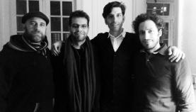 Con Juan Fracchi, José Saluzzi y Markos Peralta en Casa Anchorena (2017)